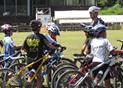 「学ぶ」・・・自転車のいろはを学べる。